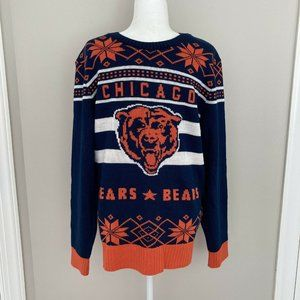 NFL Chicago Bears Ugly Sweater Size XL